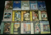 LOT of 15 ISSUES OF BUILDING AGE MAGAZINE, 1926-30, ARCHITECTURE, ILLUSTRATED