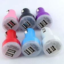Car Auto Truck SUV Vehicle Double USB Port Charger Adapter GPS MP3 IPhone Pad