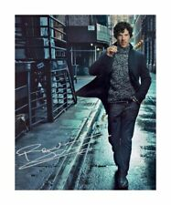 BENEDICT CUMBERBATCH SIGNED AUTOGRAPHED A4 PP PHOTO POSTER