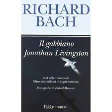 Il Gabbiano Jonathan Livingston by Richard Bach (Paperback) Fast and FREE P & P