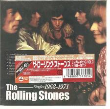 """The Rolling Stones """"Singles 1968-1971"""" 9cd+dvd BOX Giappone SEALED"""
