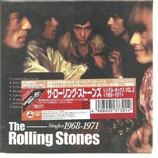 "THE ROLLING STONES ""Singles 1968-1971"" 9CD+DVD Box Japan sealed"