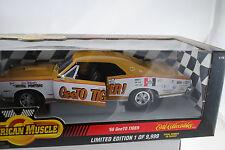 1:18 ERTL 1966 Pontiac GTO Geeto Tigre Oro/WHITE-Rarità Nuovo/Scatola Originale *