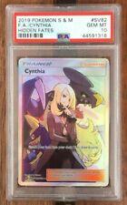 Pokemon Card  PSA 10   CYNTHIA   Hidden Fates  SV82/SV94