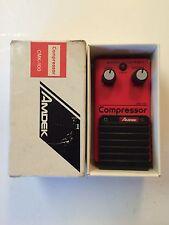 Amdek CMK-100 Compressor Sustainer Rare Vintage Guitar Effect Pedal MIJ Japan