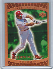 1999 Upper Deck Ovation (Superstar Spotlight) JUAN GONZALEZ #88 (2611)