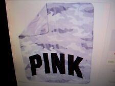 "Victoria's Secret Pink blanket.throw.50""x60 "".New.camo"