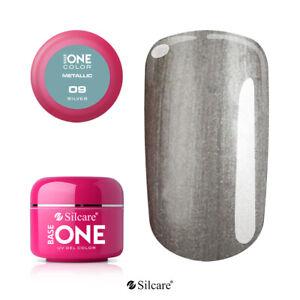 Gel UV Base One Metallic Stone Steel 51 Colors manufacturer SILCARE