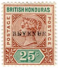 (I.B) British Honduras Revenue : Duty Stamp 25c