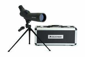 Celestron 60mm Zoom Refractor Birdwatching Spotting Scope, Angled, MPN 52223-CGL