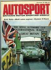 Autosport November 20th 1969 *RAC Rally & Kyalami Nine Hours & Can Am*