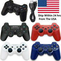 1/2 PCS PS3 Controller PlayStation3 DualShock Wireless SixAxis GamePad US
