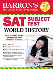 NEW - Barron's SAT Subject Test World History by Melega  M.A., William V.