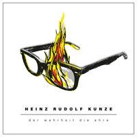 2 Lp Vinyl Heinz Rudolf Kunze Der Wahrheit Die Ehre Album 2020 14 Tracks 180g