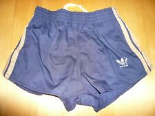 (NEU) ADIDAS Vintage Baumwoll/Polyester Running Short, Sprinter, Sporthose, Gr.3