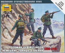 Soldatini 1/72 WWII German Gebirgsjäger ZVEZDA (6154) Art of tactic