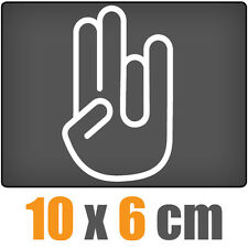 The Shocker Hand csf0006 10 x 6 cm JDM Decal Sticker Aufkleber Racing Die Cut