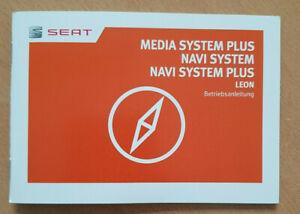 Seat Leon 5F Media System Plus Navi System Bedienanleitung Betriebsanleitung