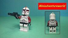 Lego GENUINE NEW Minifigure Clone Captain  ONLY IN 75021 Republic Gunship sw492