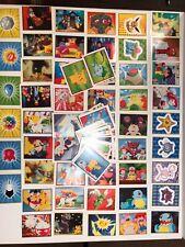 Vintage Pokemon Mini Sticker Cards (75 Cards) 2000 Nintendo Merlin Collection