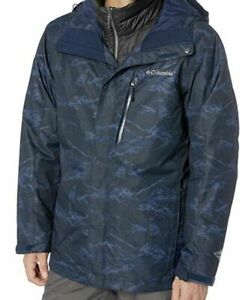 COLUMBIA Whirlibird III Mens 5X 3-in-1 Big/Plus/Tall Winter Parka/Jacket/Coat