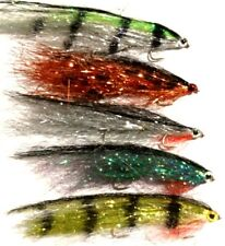 10 NEW Mixed Rutland Grafham BIG BROWN  Tandem Fry -  by Iain Barr Fly Fishing