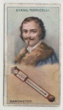 Torcilli Barometer Inventor Italy Galileo Physics 90+ Y/O Trade Ad Card