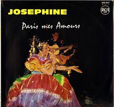 """JOSEPHINE BAKER """"PARIS MES AMOURS"""" 60'S LP RCA 430.052"""
