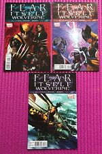 FEAR ITSELF: WOLVERINE #1 2 3 Complete SET,  Marvel 2011