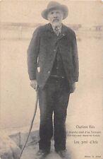 CPA 13 ARLES CHARLOUN RIEU LOU PONT D'ARLE (cliché rare