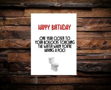 Funny Humour Greetings Card Birthday Card Dad Husband Boyfriend Uncle