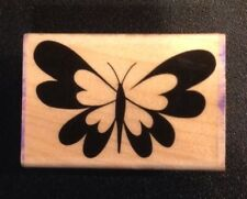 Hero Arts Heart Winged Butterfly Rubber Stamp D5743