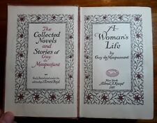 Guy de Maupassant Collected Novels & Stories 1927 HC Alfred Knopf