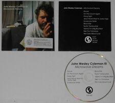 John Wesley Coleman III  Microwave Dreams  U.S. promo cd card cover