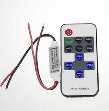 Funk Einfarbig LED Controller Dimmer Fernbedienung Strip Streifen Leiste 6434