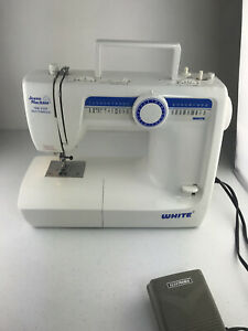 White Jeans Machine  Sewing Machine Model 4042, HEAVY DUTY Parts Only