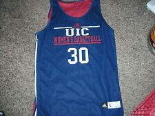 Ncaa, Adidas, Uic Flame, Women's Basketball jersey, #30, reversible, Large, exce
