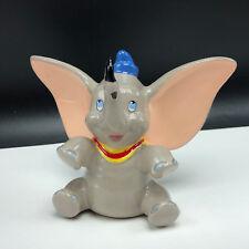 DUMBO FIGURINE WALT DISNEY vintage porcelain statue timothy mouse sculpture art