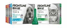 More details for frontline spot on plus cat dog kills fleas ticks lice stops flea eggs 1 3 6 pack
