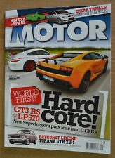 Motor May 2010 HSV Clubsport GXP, FPV Falcon GS, Porsche GT3 RS, Range Rover Spo