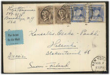 USA MI 459 MIF Letter with airmail after Finland