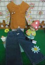 vêtements occasion fille 3 ans,jean,sweat LA COMPAGNIE DES PETITS,gilet