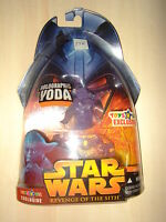 STAR WARS ROTS Figurine HOLOGRAPHIC YODA TOYS R US EXCLUSIVE