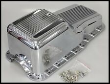 SBF FORD 289 302 347 FINNED ALUMINUM OIL PAN #8446
