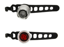Cateye Front and Rear Orb LED Bicycle Lightset SL-LD160