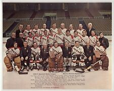 VINTAGE 1970-71 BALTIMORE CLIPPERS AHL ORIGINAL TEAM ISSUE 8x10 HOCKEY PHOTO