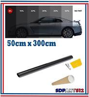 Film Solaire De Qualité 3m x 50 cm, Teinté 5% VLT Noir Auto,Batiment