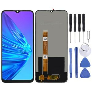 For Oppo Realme 5 LCD Screen Touch Digitizer Replacement Assembly BLACK