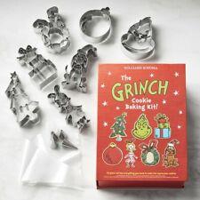 Williams Sonoma Grinch 22 Piece Cookie Cutter Baking Kit BNIB