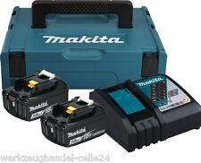 Makita Power Source Akku Kit 2 x 3.0 AH 197952-5 AH BL1830B  DC18RC  Makpac